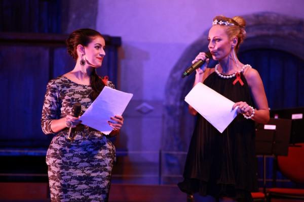 moderátorky - Helena a Genny