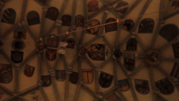 erby na stropě Barbory