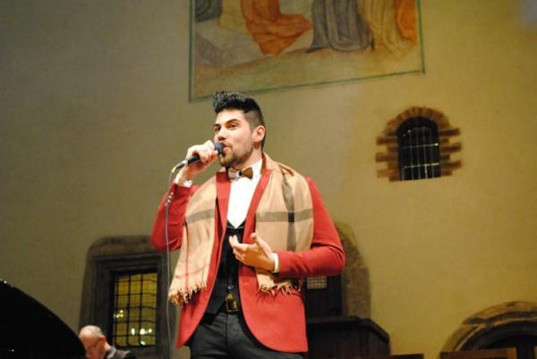 finalista Vincenzo v kapli