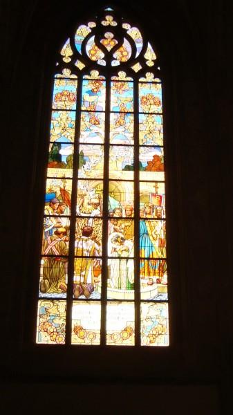 okno v Baroboře
