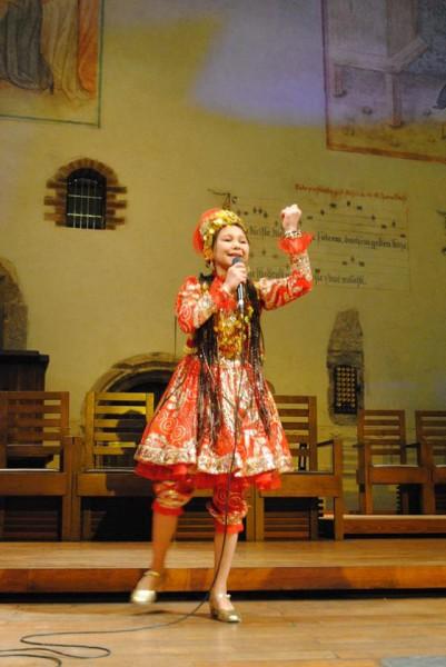 vítěz dětské kategorie - Uzbekistán , Akbarova Chajrisino