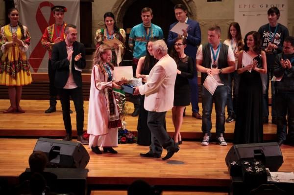 cena festivalu za kostým - Elizabeth - Rusko