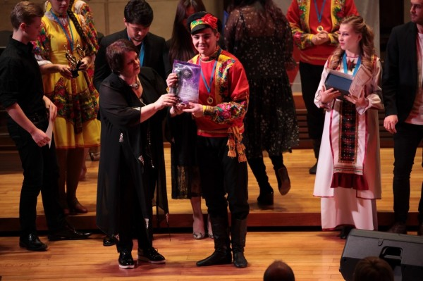 cena pro taneční soubor Domu armády
